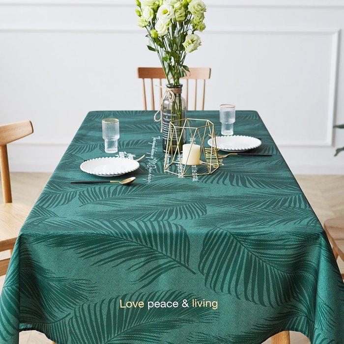 北歐創意桌布 防水防油 餐桌佈置 野餐墊 咖啡廳 餐廳 圓桌 方桌桌布│悠飾生活│