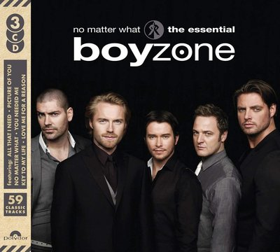 歐版3CD《男孩特區》精選專輯全59首 /No Matter What: The Essential Boyzone全新