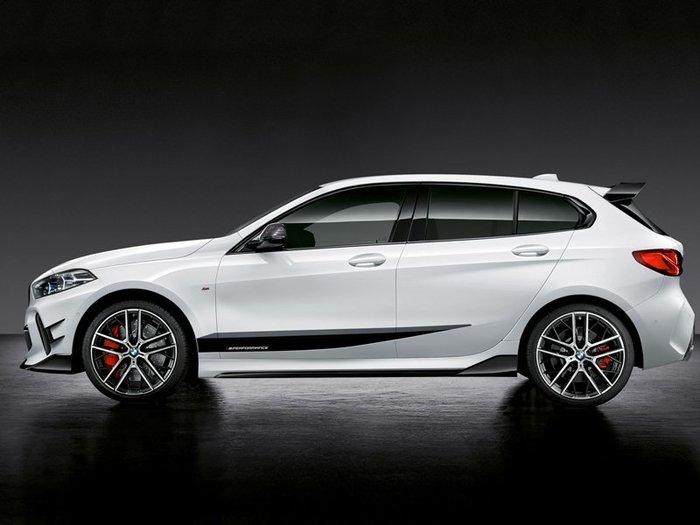 【樂駒】 BMW M Performance F40 原廠 側裙 車身 薄膜 貼紙 LOGO 外觀 套件 加裝