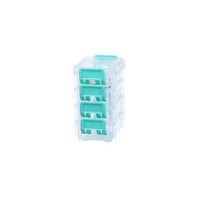 315百貨~聯府 1號高點連結盒(4入) CC-104   /  小物盒 聯結盒 分類盒