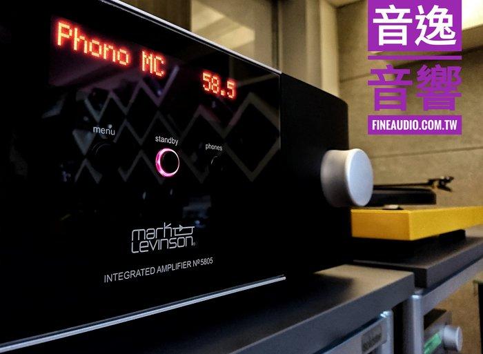 來店特價【音逸音響】Hi-End高性能!數位、類比、黑膠唱放兼容.綜合擴大機》Mark Levinson No.5805