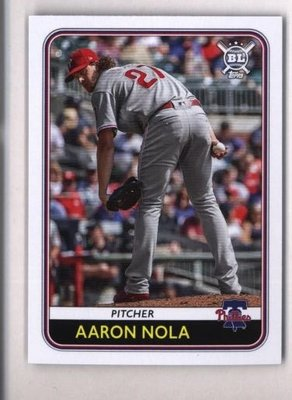 2020 Topps Big League #47 Aaron Nola - Philadelphia Phillies
