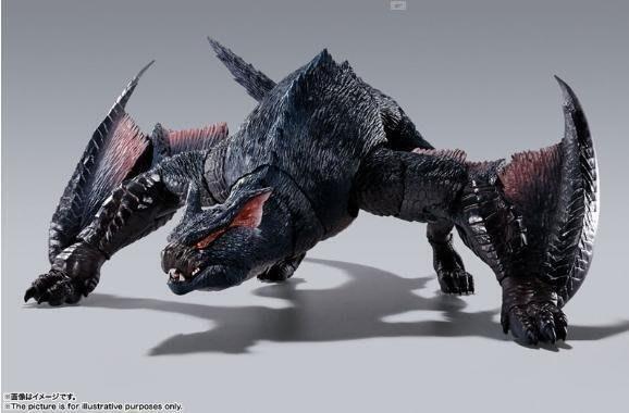 逢甲 爆米花 全新 特價 代理版 SHM S.H.MonsterArts 魔物獵人 迅龍納魯加庫魯加