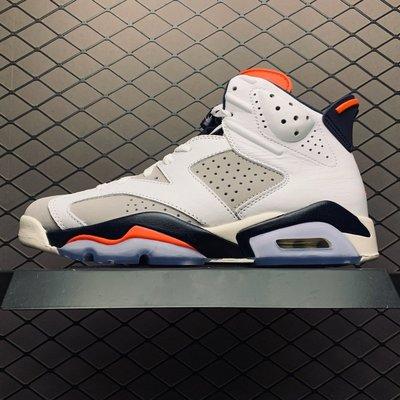 Air Jordan AJ6 白紅 時尚 百搭 高筒 籃球鞋 384664-104 男鞋