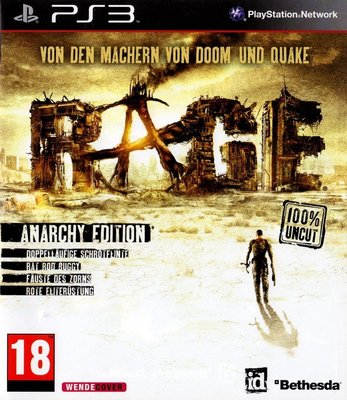 【二手遊戲】PS3 狂怒煉獄 RAGE 英文版 射擊遊戲 裸裝 無盒【台中恐龍電玩】