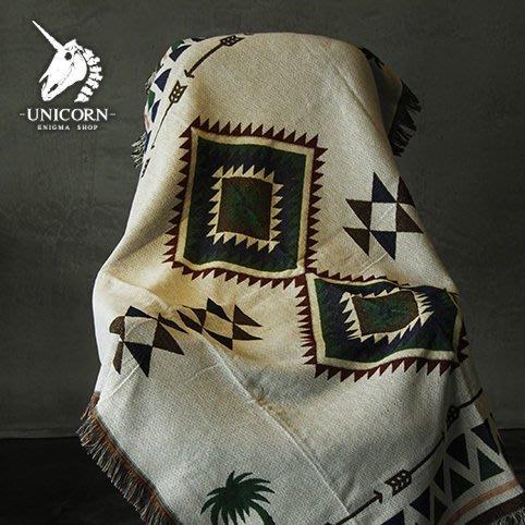 115*150cm(椰绿) 土耳其基里姆 蘇克雷 民族風多用途露營野營桌巾流蘇蓋毯地毯Sugar Korea100%