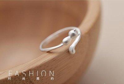YEAHSHOP 個性戒指戒指創意貓咪個性食指指Y185