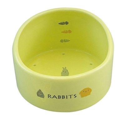 SNOW的家【訂購】日本Marukan 陶瓷透氣加高兔食碗 ES-15 (81870257