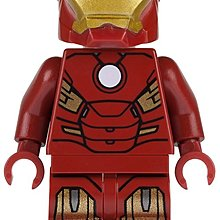 Lego Super Heroes Iron Man with Circle on Chest 人仔1隻 全新 連藍色磚 (6869)