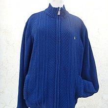 jacob00765100 ~ 正品 HUSH PUPPIES 巴吉度狗狗 藍色 針織外套 size: L