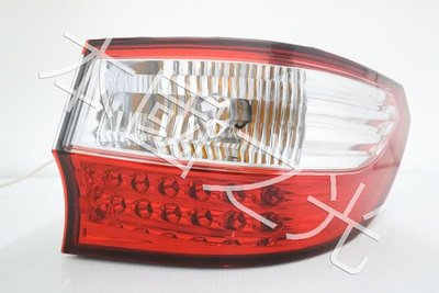 oo本國之光oo 全新 納智捷 10 13 14 11 12 M7 LED晶鑽紅白 尾燈 正廠 一顆