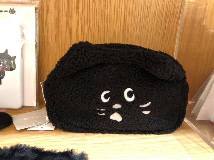 日本  Ne Net 貓化妝包/筆袋