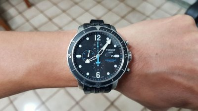TISSOT Seastar 1000 海洋之星潛水機械腕錶 48mm