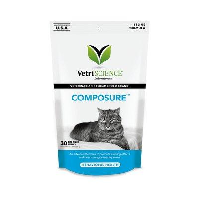 Vetri Science維多麗 情緒調節保健貓用嚼錠-30粒