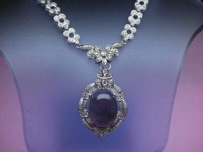 (雲凱珠寶部落格)20x16mm天然紫玉髓,似紫羅蘭翡翠
