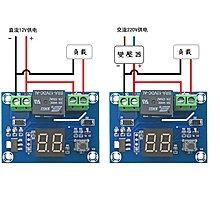 定時器控制模組(1~60分鐘及1~24小時,時間到數)