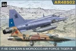 【AFV CLUB AR48S02】1/48 F5E Tiger III型/附智利與摩洛哥塗裝