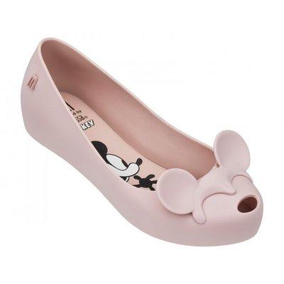 ╭☆包媽子店☆巴西正品Melissa 女款米奇&米妮款內增高果凍鞋((3色))