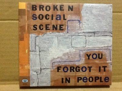 ~拉奇音樂~崩世光景Broken Social Scene You Forgot It In People 二手。團。