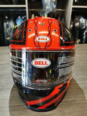 (二輪動力生活館)BELL ELIMINATOR 最新發表 全罩式安全帽 OUTLAW 紅黑
