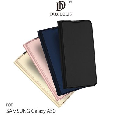 *phone寶*DUX DUCIS SAMSUNG A50 奢華簡約側翻皮套 可站立 可插卡 保護套