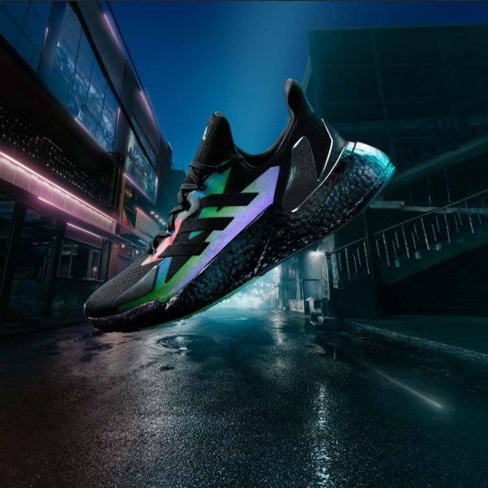 南◇2020 8月 Adidas X9000L4 Boost 運動鞋 復古 3M反光 緩震 FW4910 黑色 炫彩