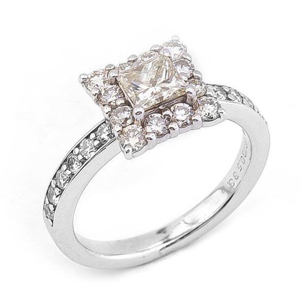 【JHT 金宏總珠寶/GIA鑽石專賣】0.533ct天然鑽石造型戒指/材質:18K(JB21-C01)