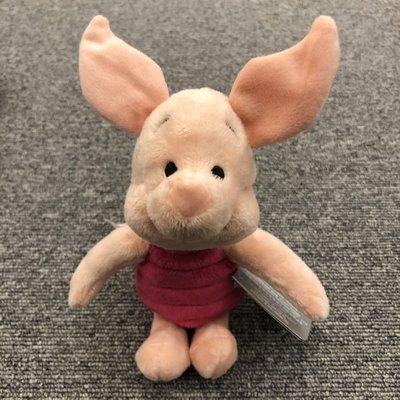 BEETLE DISNEY PIGLET 美國 迪士尼 正版 絨毛 玩偶 小豬 皮傑 小熊維尼 可愛 21公分 聖誕禮物