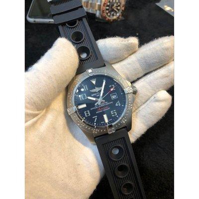 Breitling  百年靈男士機械腕錶 男錶 真皮錶帶 (手錶出貨前可拍視頻確認)免運費