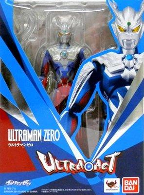 日本正版 萬代 ULTRA-ACT 超人力霸王 ZERO 可動 模型 公仔 日本代購