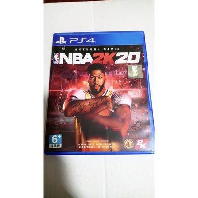 ❤️現貨❤️ PS4 NBA2K20 中文版 9成新 光碟無刮傷