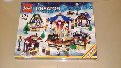 全新樂高 , LEGO 10235 Winter Village Market