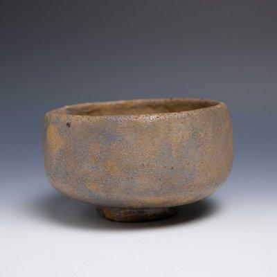【吳苑】 【一元起標】 少見 藍色 土胎 茶碗 抹茶碗 日本 古美術 茶道具 花道具 香道具 炭道具 AN0191