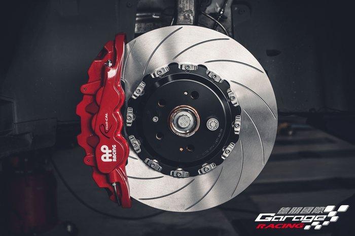 德朋國際 /  Volkswagen NewTiguan 實裝 前AP CP8520 六活塞卡鉗 後K-SPORT加大碟