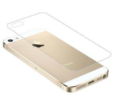 【妞妞♥3C】APPLE iPhone5Se iPhone4S 玻璃背貼 9H防刮強化鋼化玻璃膜 保護貼膜 防爆膜