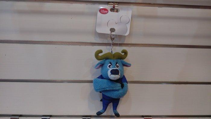 東京迪士尼動物方程式蠻牛局長鑰匙圈(日本帶回來)