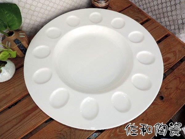~佐和陶瓷餐具~【82T080-16 12位展示盤】展示盤/辦桌盤/參展盤/參賽用盤/喜宴盤