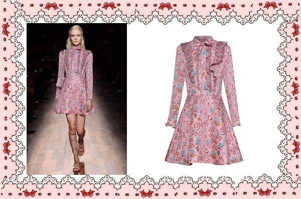 ⚡肯尼芭比⚡【保證實品拍攝】【最新款】粉紅色長袖短裙☆°荷葉邊連身洋裝☆°╮蜜桃色荷葉邊襯衫裙【日本製】