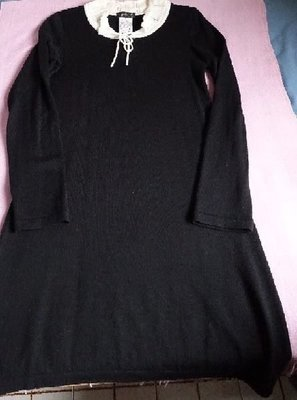 Agnes b Paris Black Dress 黑色針織連衣裙