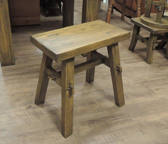 ~溫馨小舖 J&J Store~ 實木椅凳 短凳 高凳 實木凳子 長方凳 古風泡茶椅子 實木榫接椅凳 結實耐用美觀