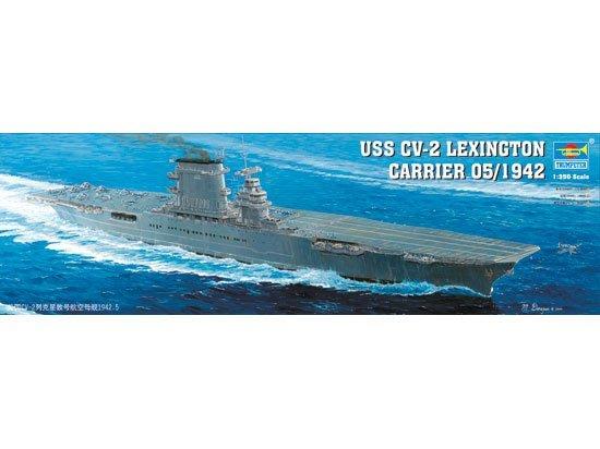 TRUMPETER 小號手 1/350 USS CV-2 Lexington 列星頓號航母 05/1942 05608
