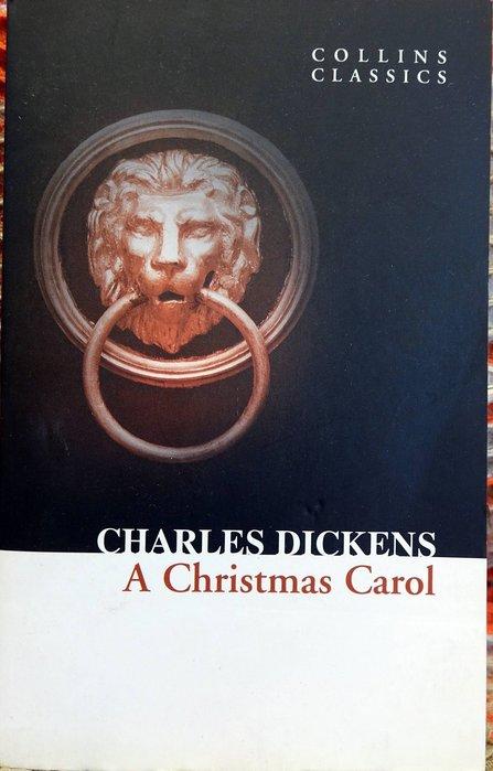 近全新書購於香港機場 經典小說 Charles Dickens【A Christmas Carol】!低價起標無底價!