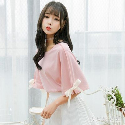 ZIHOPE 兩件式洋裝 可愛套裝裙子少女夏裝2019新款韓版甜美短裙初中學生ZI812