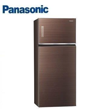 【全家家電】《享折扣》Panasonic NR-B589TG 579公升 雙門變頻冰箱