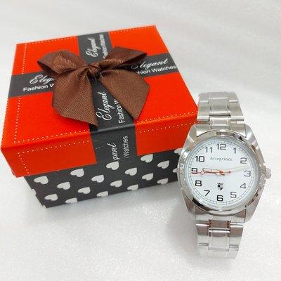 經典不敗~ Arseprince不鏽鋼手錶/ 簡約三針/ 中性款式男女適用/ 特價 新北市