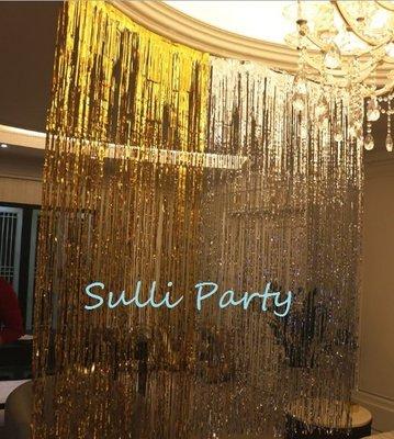 雪莉派對~100X200公分窗簾雨絲 ...