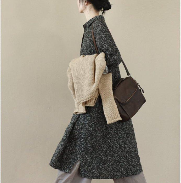 ||一品著衣|| 窗 | 棉質花柄連身裙 印花袍子 特惠 LR