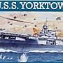 利華Revell拼裝船艦模型05800 1/ 1200 U.S.S...