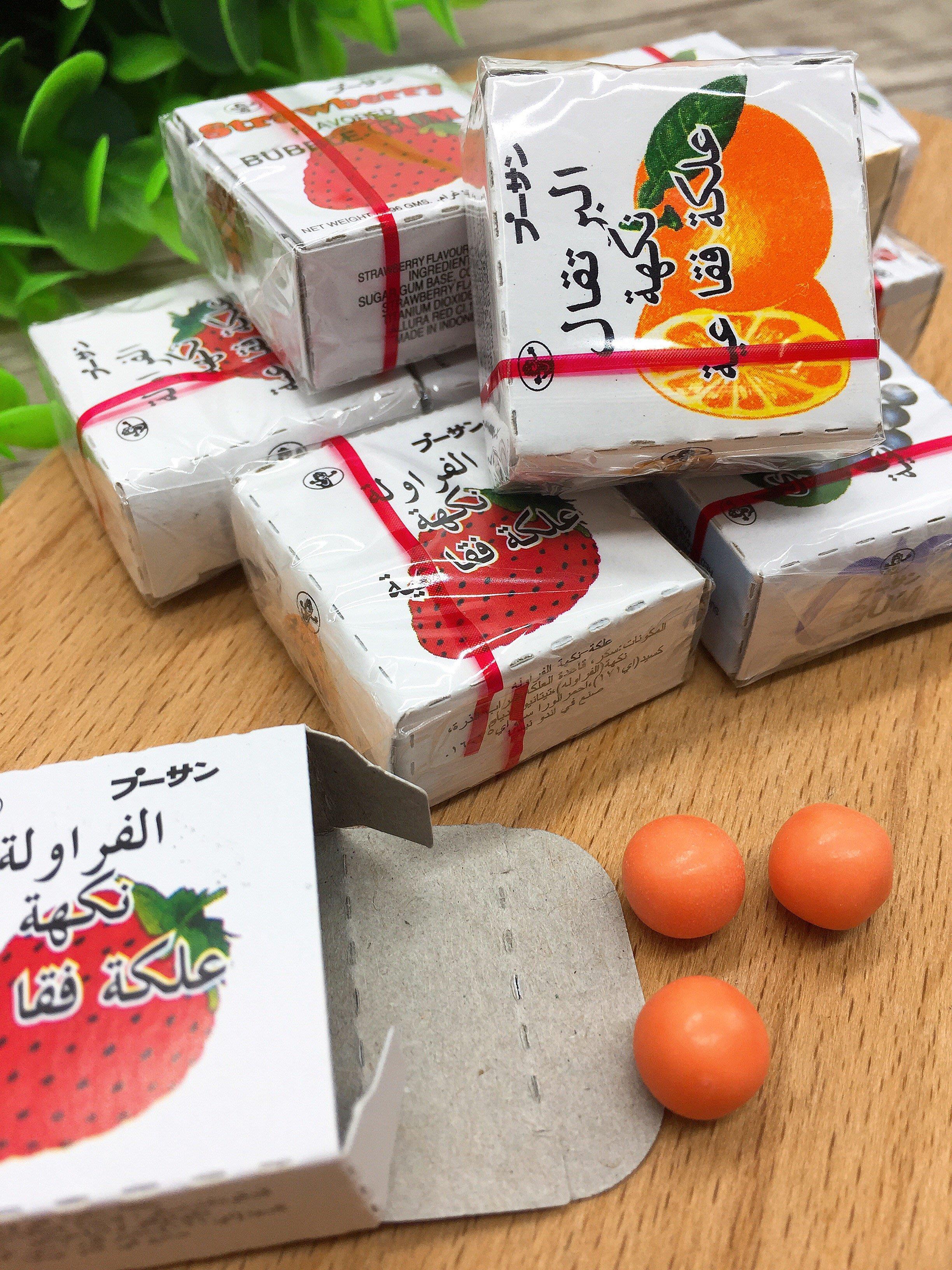 【懷舊零食】水果口香糖⭐6盒/$20⭐