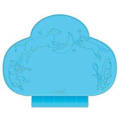 美國Summer Infant Tiny Diner 可攜式防水學習餐墊(藍色)~現貨